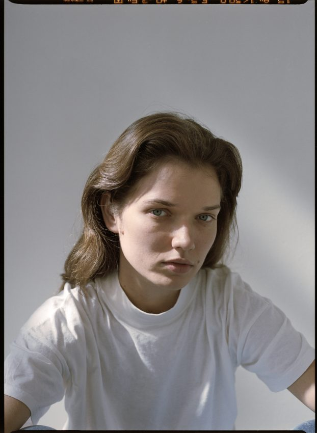 Model Dominika Drozdowska shot on medium format colour film