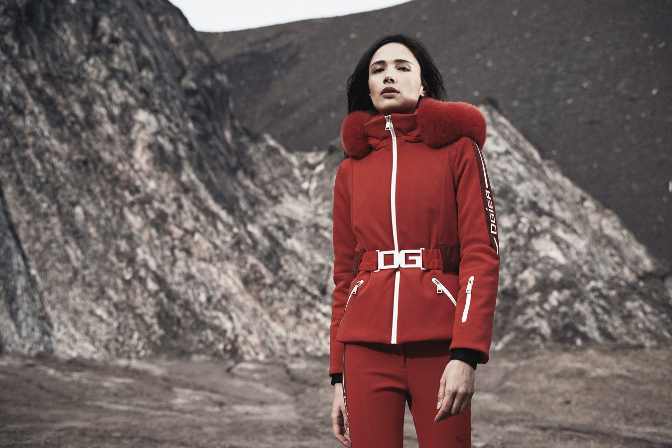 Campaign photograph for Ogier Skiwear
